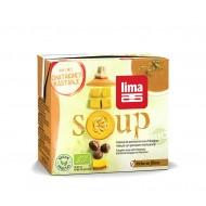 Supa crema de dovleac cu castane bio (500 ml), Lima