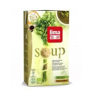 Supa crema de patrunjel cu mei si Tamari bio (1 litru), Lima
