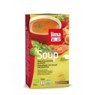 Supa crema de rosii cu busuioc bio (1 litru), Lima