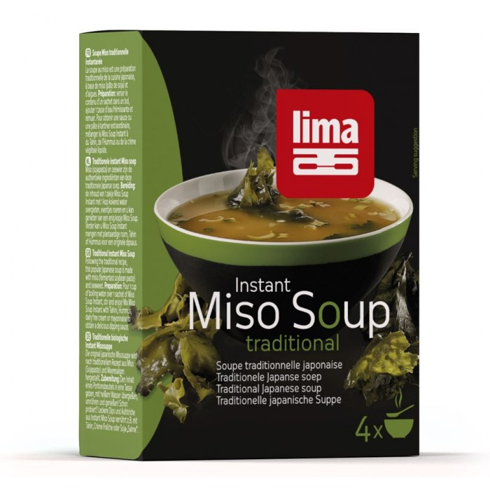 Supa Miso instant (4x10g),  Lima
