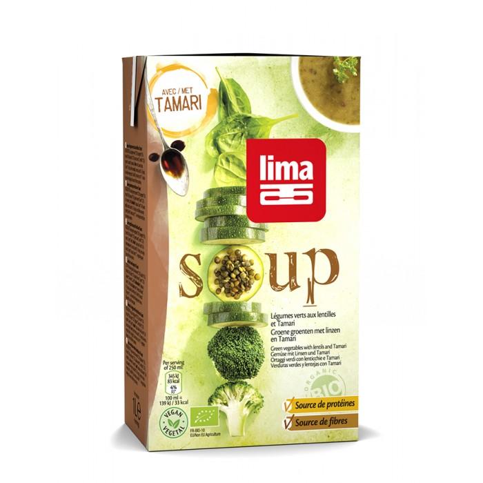 Supa de linte cu Tamari bio (1 litru), Lima