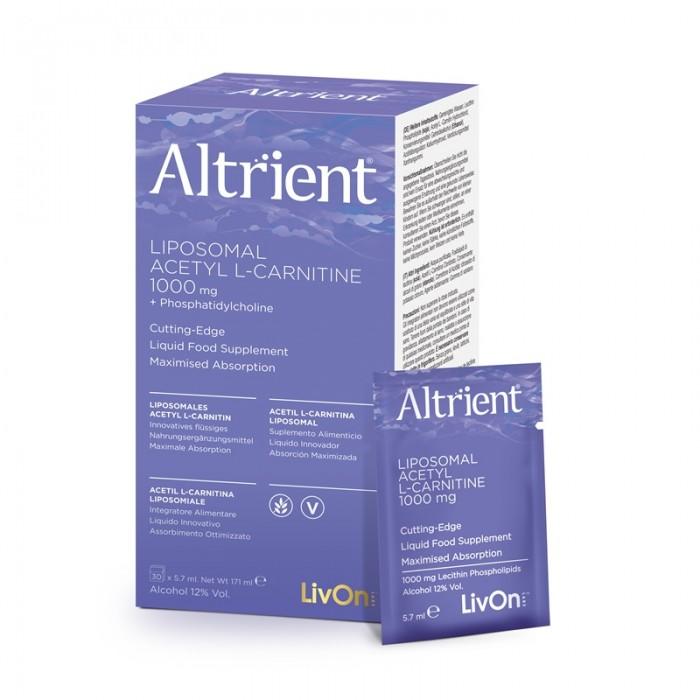 Altrient Acetyl L-Carnitine (30 pliculete), LivOn Labs