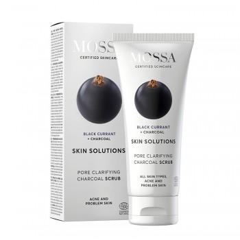 Skin Solutions Scrub pentru curatarea porilor (60 ml), Mossa