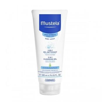 2 in 1 Crema curatatoare par si corp (200 ml), Mustela
