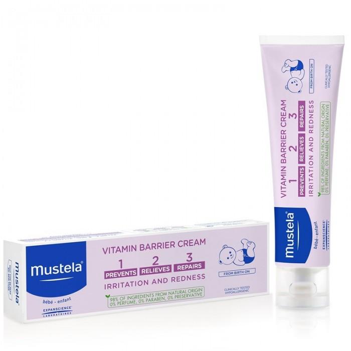 Vitamin barrier 1-2-3 - Crema pentru iritatia de scutec (50ml), Mustela