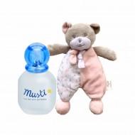 Pachet Fetite Musti apa de ingrijire parfumata (50 ml) + Cadou Ursulet