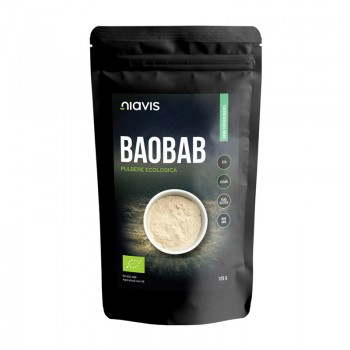 Baobab pulbere ecologica/BIO (125 grame), Niavis
