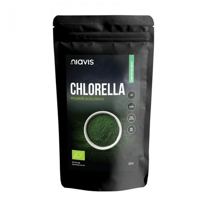 Chlorella Pulbere Organica (Bio) (125 grame)
