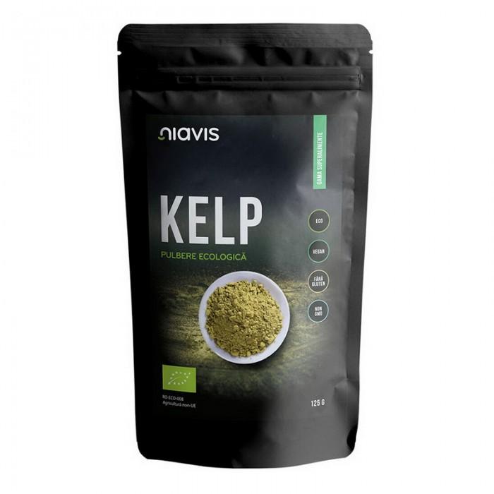 Kelp pulbere naturala (125 grame)