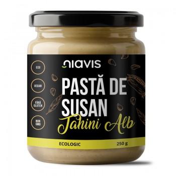 Pasta de susan (Tahini Alb) ecologica/BIO (250 grame), Niavis