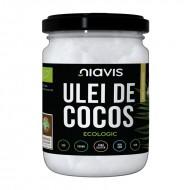 Ulei de cocos extra virgin ecologic/BIO (460g/500ml), Niavis