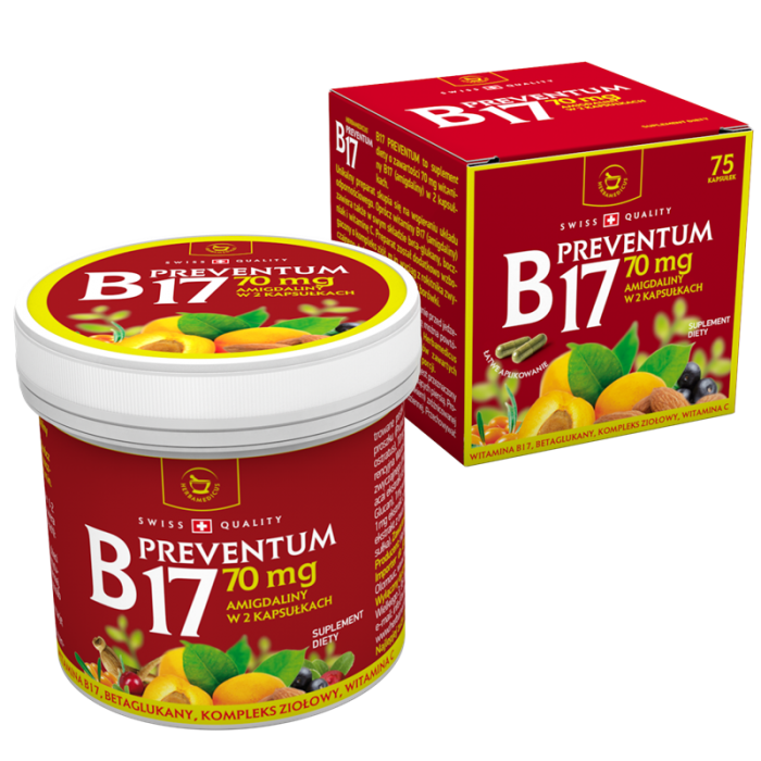 B17 Preventum 70mg (75 capsule), Herbamedicus