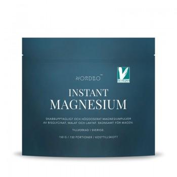 Instant Magneziu Vegan (150 grame), Nordbo