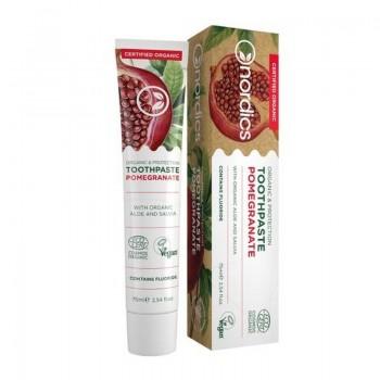 Pasta de dinti pentru protectie cu rodie bio (75 ml), Nordics