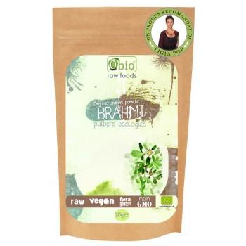 Brahmi pulbere raw bio (125 grame)