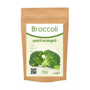 Broccoli pudra bio (125 grame)