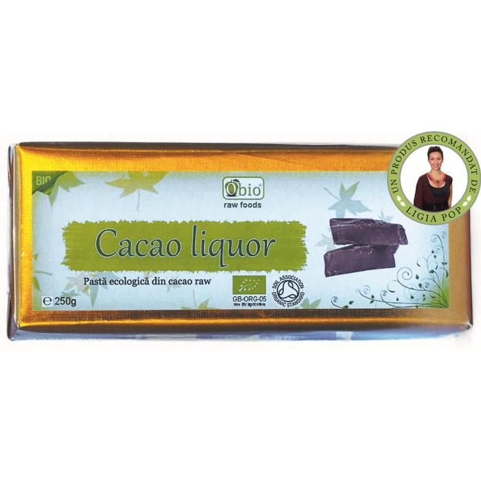 Cacao liquor raw bio (250g)