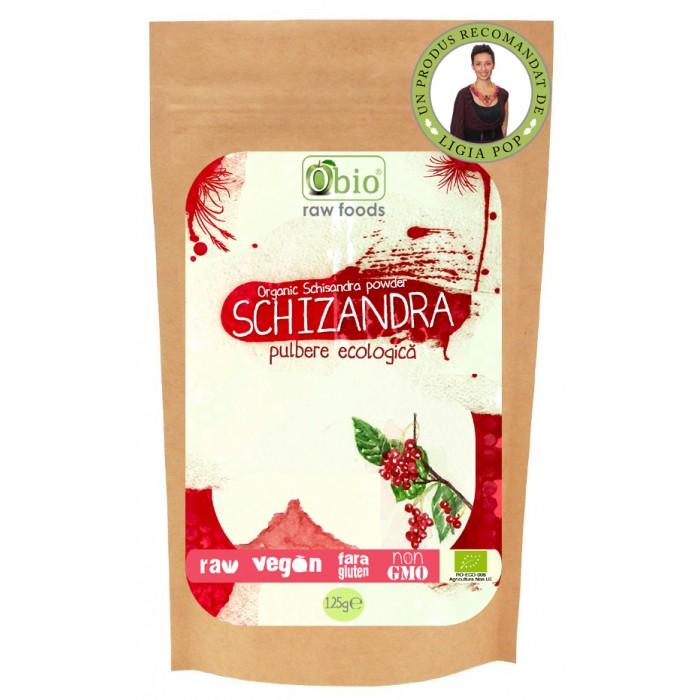 Schizandra pulbere raw (125 grame)