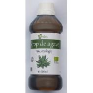 Sirop de agave brun (dark) raw bio (500ml)