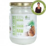 Obio, Ulei de cocos virgin raw bio (450 grame)