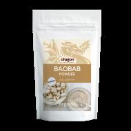 Baobab pulbere raw bio (100 grame), Dragon Superfoods