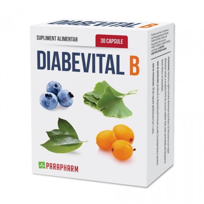 Quantumpharm, Diabevital B - capsule pentru diabetici (30 capsule)