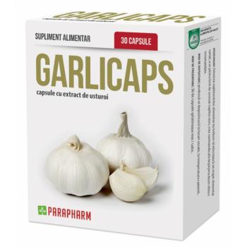 Quantumpharm, Garlicaps (capsule cu extract de usturoi) (30 capsule)