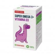 Quantumpharm, Super Omega 3 + Vitamina D3 (30 bomboane gumate moi)