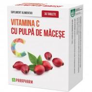Quantumpharm, Vitamina C cu pulpa de macese (30 capsule)