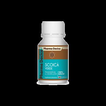 Scoica Verde (180 capsule), Pharma Dacica