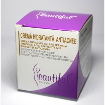 Crema antiacnee cu apa termala si antioxivita (50 ml), Beautiful Cosmetics
