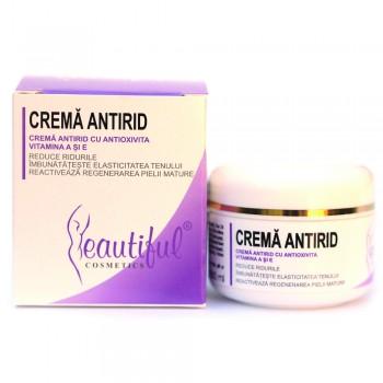 Crema antirid cu Antioxivita (50 ml), Beautiful Cosmetics