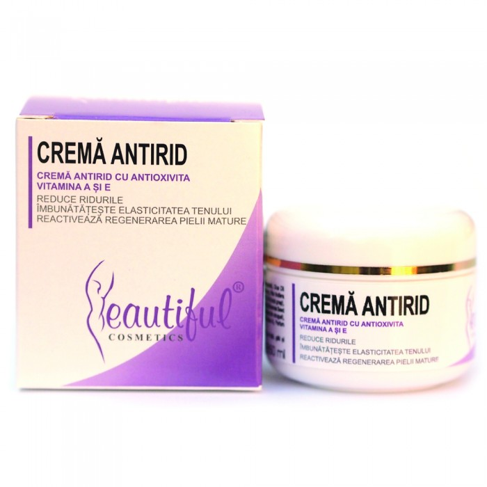 Crema antirid cu Antioxivita (50 ml), Beautiful Cosmetics