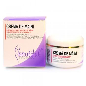 Crema de maini Antioxivita (50 ml), Beautiful Cosmetics