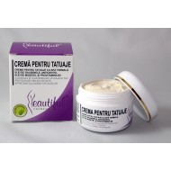 Crema pentru tatuaje (50 ml), Beautiful Cosmetics