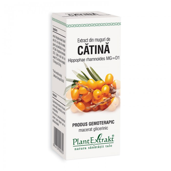 Extract din muguri de catina - Hippophae Rhamnoides MG=D1 (50 ml), Plantextrakt