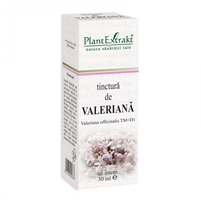 Tinctura de valeriana - Valeriana Officinalis TM=D1 (30 ml), Plantextrakt