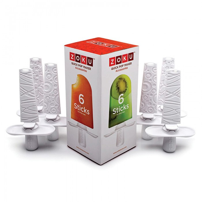 Betisoare reutilizabile pentru dispozitivele de preparat inghetata Zoku ZK102 (6 bucati)