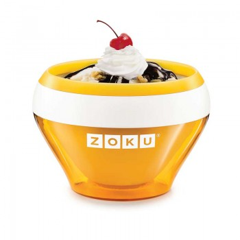 Bol preparare inghetata Zoku ZK120 portocaliu