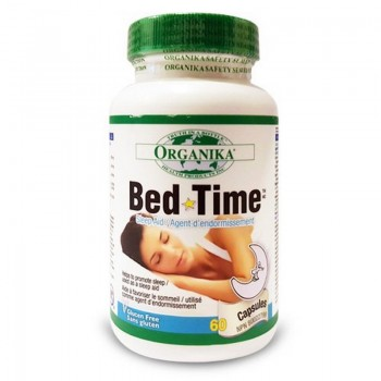 Bed Time Insomnia (60 capsule), Organika Canada