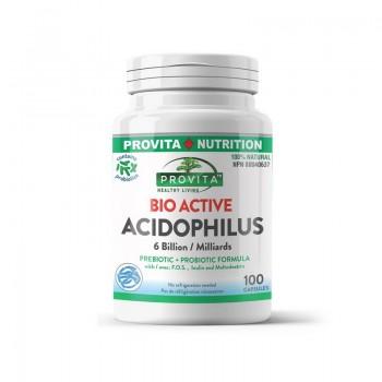 Bio-Active Acidophilus (100 capsule), Provita Nutrition
