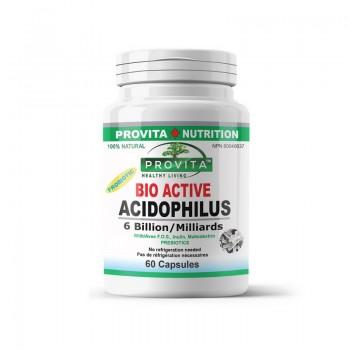 Bio-Active Acidophilus (60 capsule), Provita Nutrition