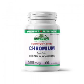 Chromium Forte 500 mcg (60 capsule), Provita Nutrition