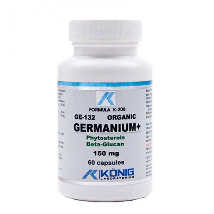 Germaniu Organic GE-132 150 mg (60 capsule), Konig Laboratorium