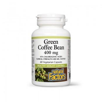 Green Coffee Bean 400 mg (60 capsule), Natural Factors