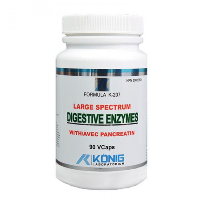Enzime Digestive (90 capsule), Konig Laboratorium
