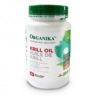 Krill Oil Forte Ulei de crevete 500 mg (90 capsule), Organika Canada