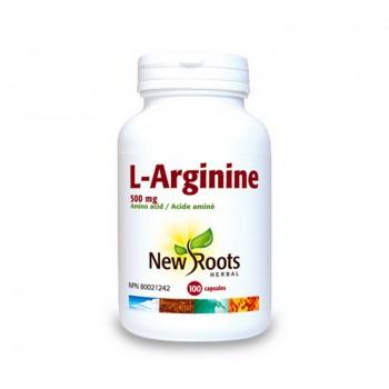 L-Arginina 500 mg (100 capsule), New Roots