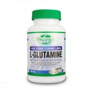 L-Glutamina 500 mg (90 capsule), Organika Canada
