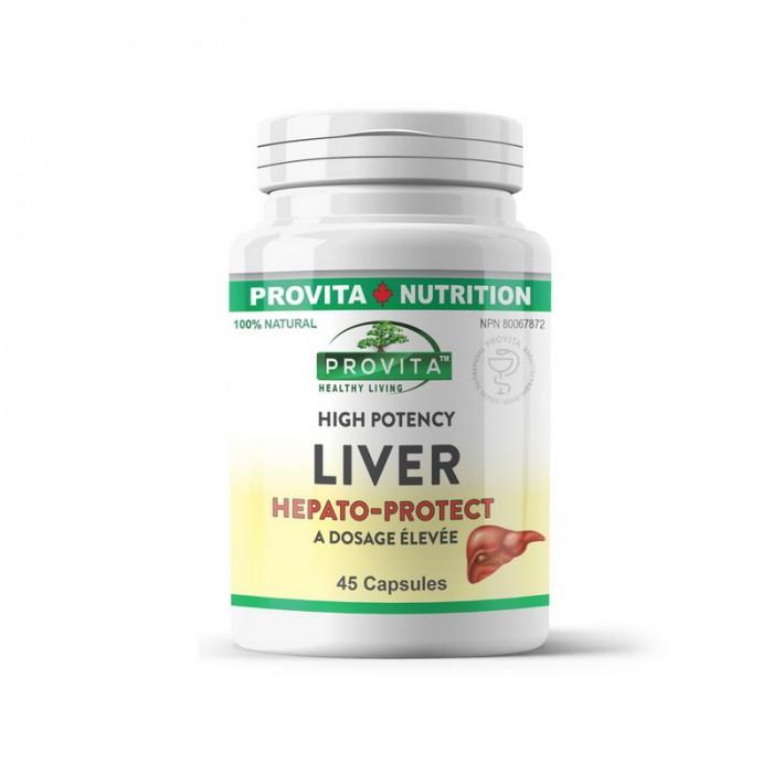 Liver Forte Hepato Protect (45 capsule), Provita Nutrition